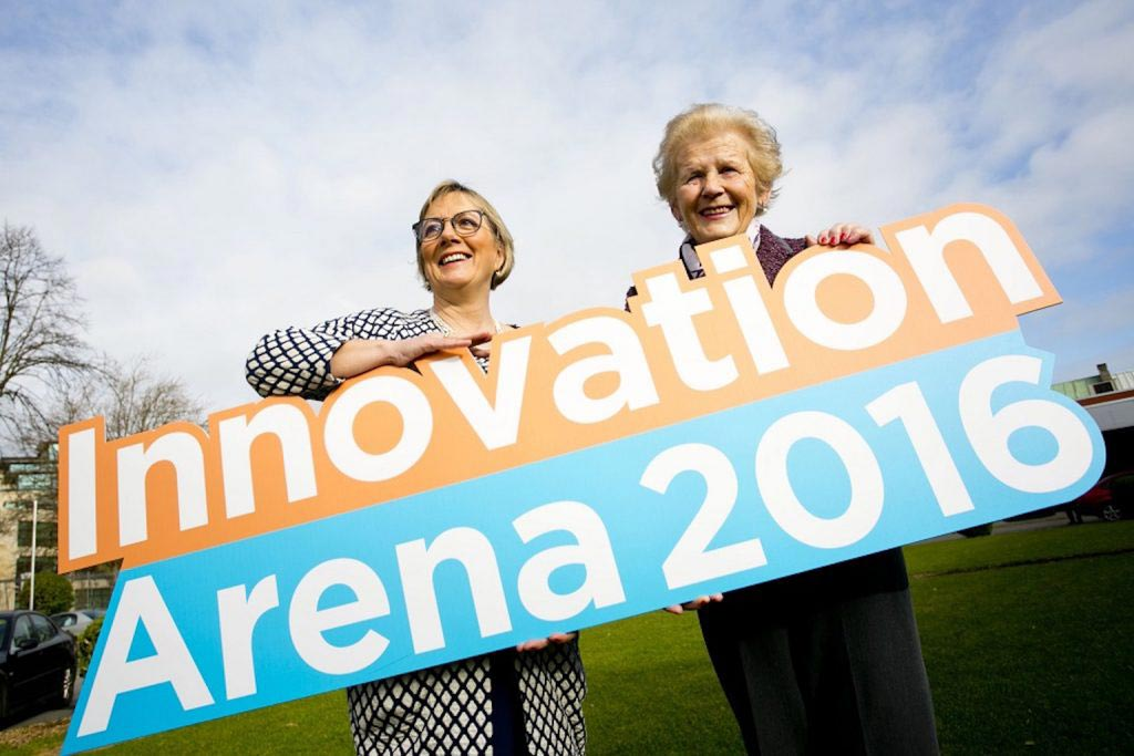 Enterprise Ireland. National Ploughing Championships Innovation Arena Awards Announcement. Photo Chris Bellew / Copyright Fennell Photography 2016