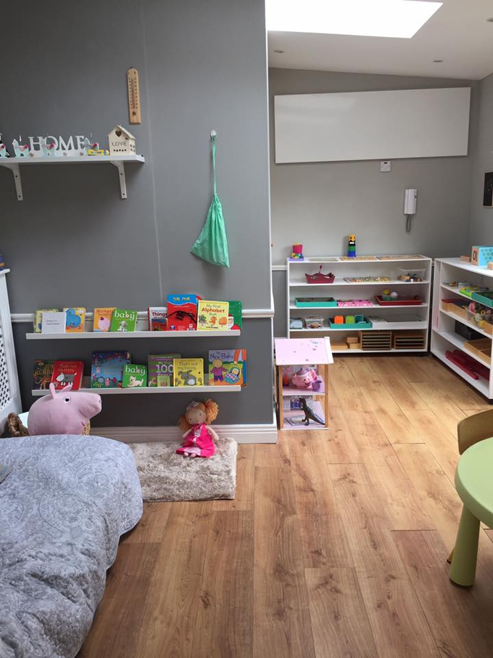 Pureheat Wall Panels in Playroom